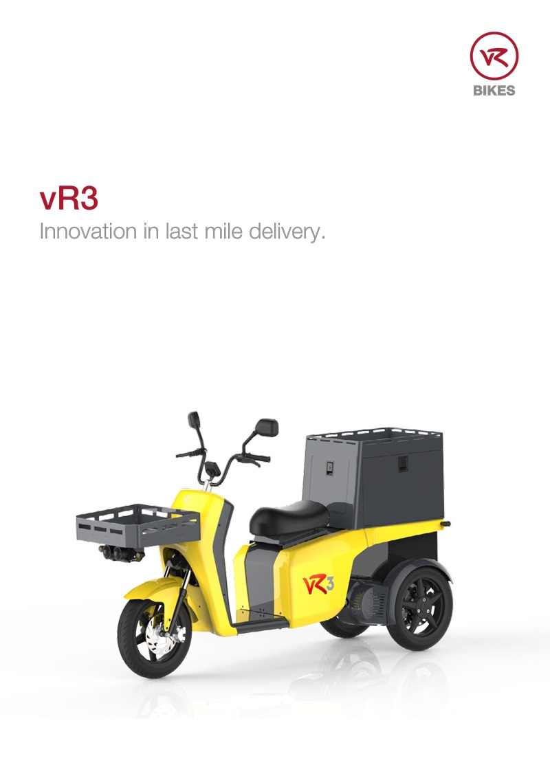 Download brochure vR3 - delivery vehicle as a PDF